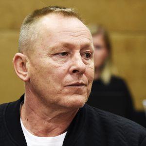 Keijo Vilhunen Helsingin hovioikeudessa 3. lokakuuta 2017.