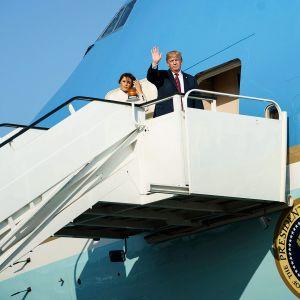 Donald Trump ja Melania Trump
