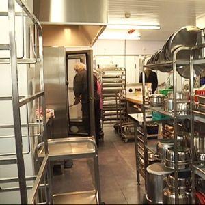 Multian Poukaman palvelukodin keittiö