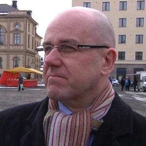 Juha Kallioinen Hämeenlinnan torilla