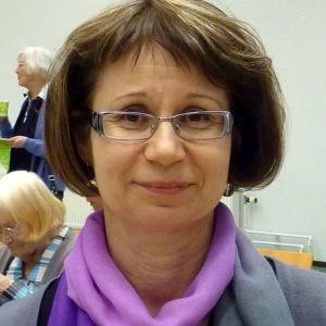 Mikkelin kaupunginkirjaston palvelupäällikkö Sylvia Staven.