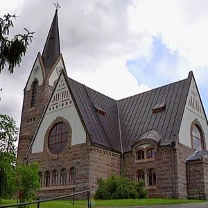 Savitaipaleen kirkko.