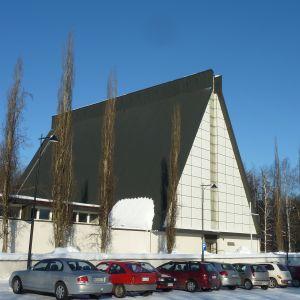 Valkeakosken kirkkohelmikuussa 2011