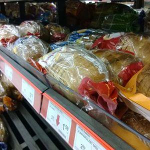 leipä leipähylly ruokakauppa