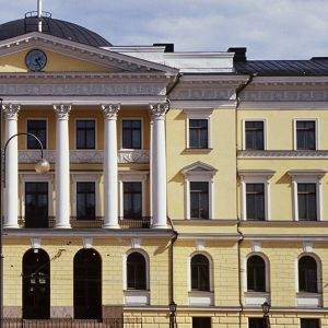 Valtioneuvoston linna Senaatintorilla.