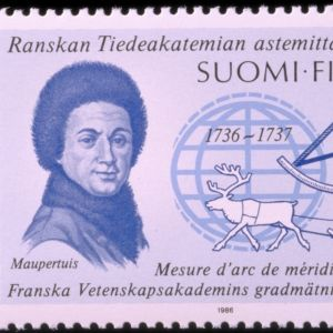 Maupertuis postimerkki