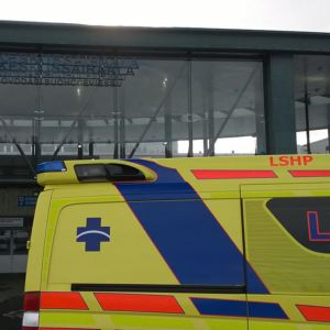LKS ambulanssi ensiapu