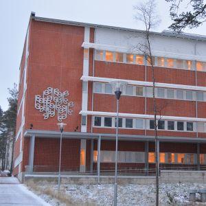 Oulun seudun koulutuskuntayhtymän Paasi-rakennus Kontinkankaan kampuksella.