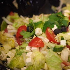 Salaattia.