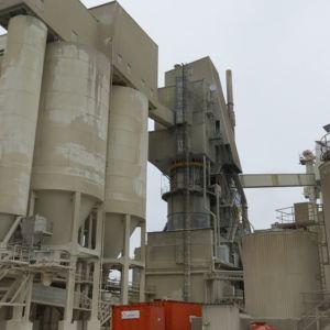 SMA Mineral Oy Röyttän tehdas.
