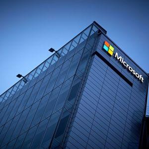 Microsoftin Suomen pääkonttori Keilaniemessä Espoossa.