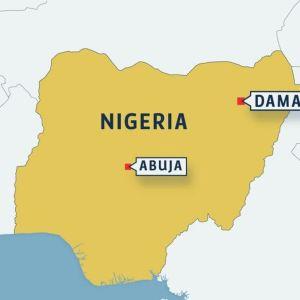 Kartta Nigeriasta.