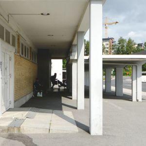 Kuopion linja-autoaseman katos