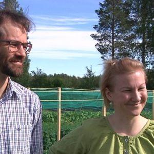 Arktiset soturit Ilkka Kauppinen ja Katja Misinkangas vievät Lapista yrttishotteja maailmalle.