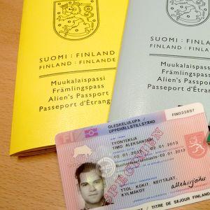 Maahanmuuttoviraston myötämiä asiakirjoja