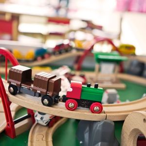 Junarata Stockmannin leikkipaikalla