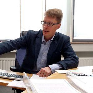 Kiurun toimitusjohtaja Ilkka Luoma