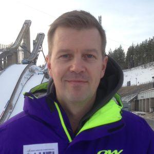 Laht i2017-kisojen pääsihteeri Janne Leskinen