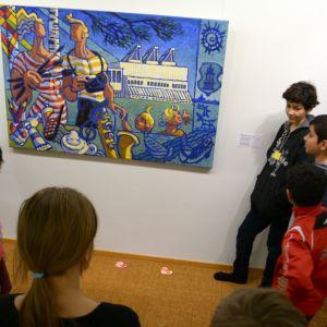 Turvapaikkana museo Aineen taidemuseo