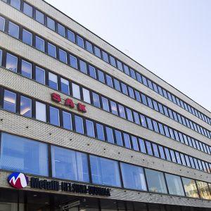 SAK:n rakennus Hakaniemessä Helsingissä