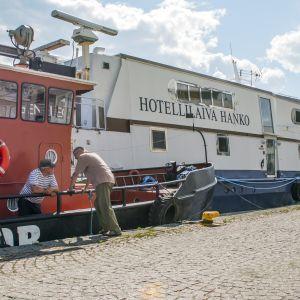 Hotellilaiva Hanko Kuopion matkustajasatamassa