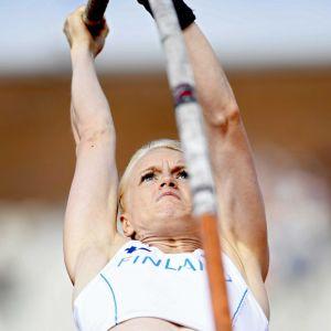 Minna Nikkanen Amsterdamin EM-kisoissa 2016.