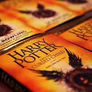 Harry Potter -kirjoja.