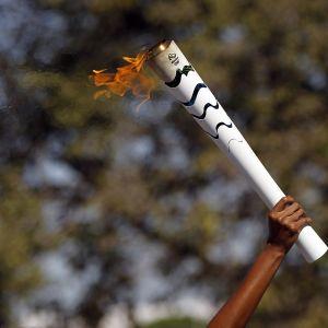 Olympiasoihtu.