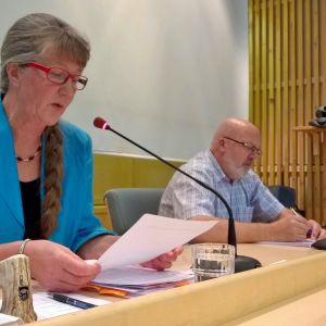 Inkeri Yritys ja Kyösti Tornberg Kittilän valtuusto 29.8.2016