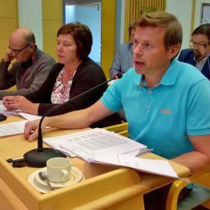 Timo Kurula Kittilän valtuustossa