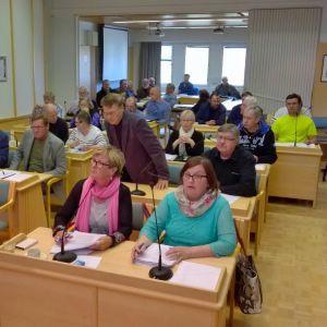 Kittilän kunnanvaltuusto on aloittamassa kokoustaan.