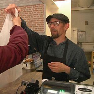 Ylijäämäruokaa on haettu vaasalaisravintoloista innokkaasti kolmen kuukauden ajan.