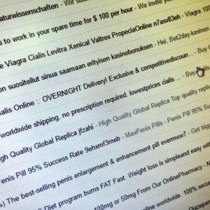 Roskapostista on hyvin vaikea päästä kokonaan eroon.