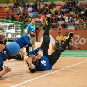 Suomen maalipallojoukkue Rion paralympialaisissa