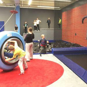 Tykkimäki Actionpark on sisäaktiviteettipuisto Kouvolassa