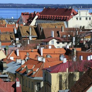Taloja Tallinnan vanhassakaupungissa.