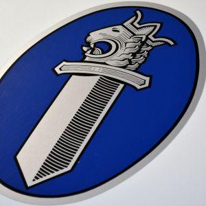 Poliisin logo.