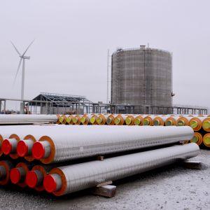 LNG Terminaali Tornion Röyttässä
