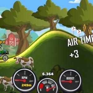 Tältä se näyttää: Hill Climb Racing 2.