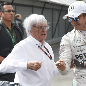 Bernie Ecclestone ja Nico Rosberg