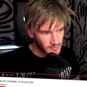 PewDiePie ilmoitti videollaan mahdollisesti lopettavansa kanavansa.