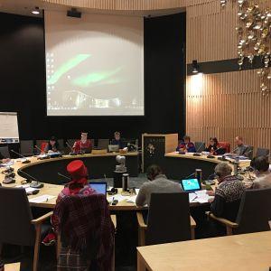 Saamelaiskäräjien kokous 19.12.2016