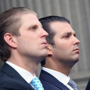 Eric Trump ja Donald Trump Jr.