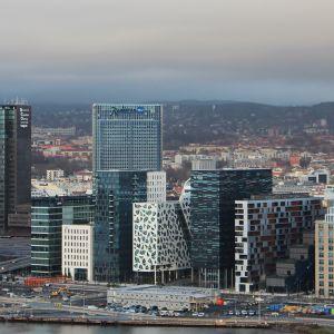 Näkymä Oslon kaupunkiin. Arkistokuva.