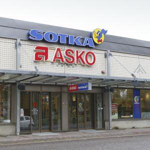 Asko ja Sotka kauppa.