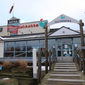 Kotkan Sapokassa sijaitseva ravintola Tulikukko.