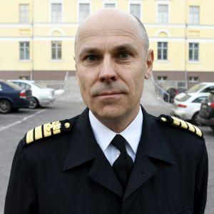 Puolustusvoimien viestintäjohtaja, kommodori Jan Engström.