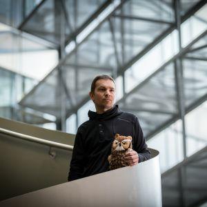 Rakennusviraston viestintäsuunnittelija Lauri Hänninen.