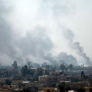Irakin armeija yrittää vallata Mosulin terroristijärjestö Isisiltä.
