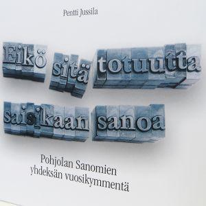 Pohjolan Sanomat -kirjan kansi.